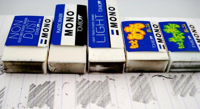 Tombow Mono block erasers