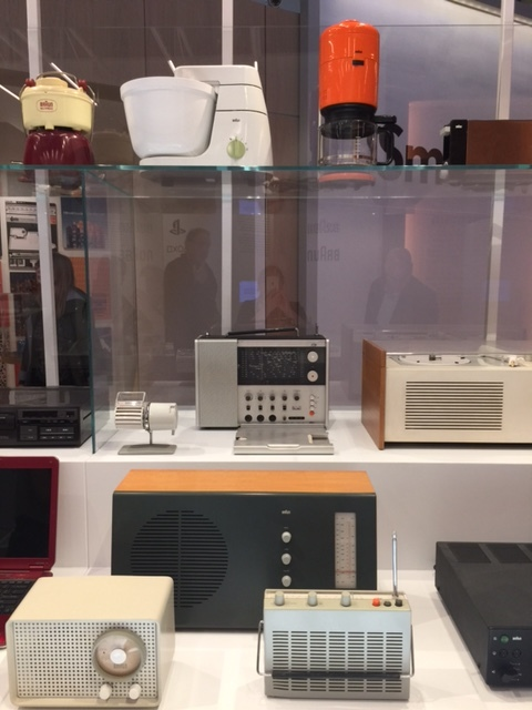 Braun exhibit at the London Design Museum