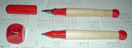 The Lamy ABC pen and pencil set.