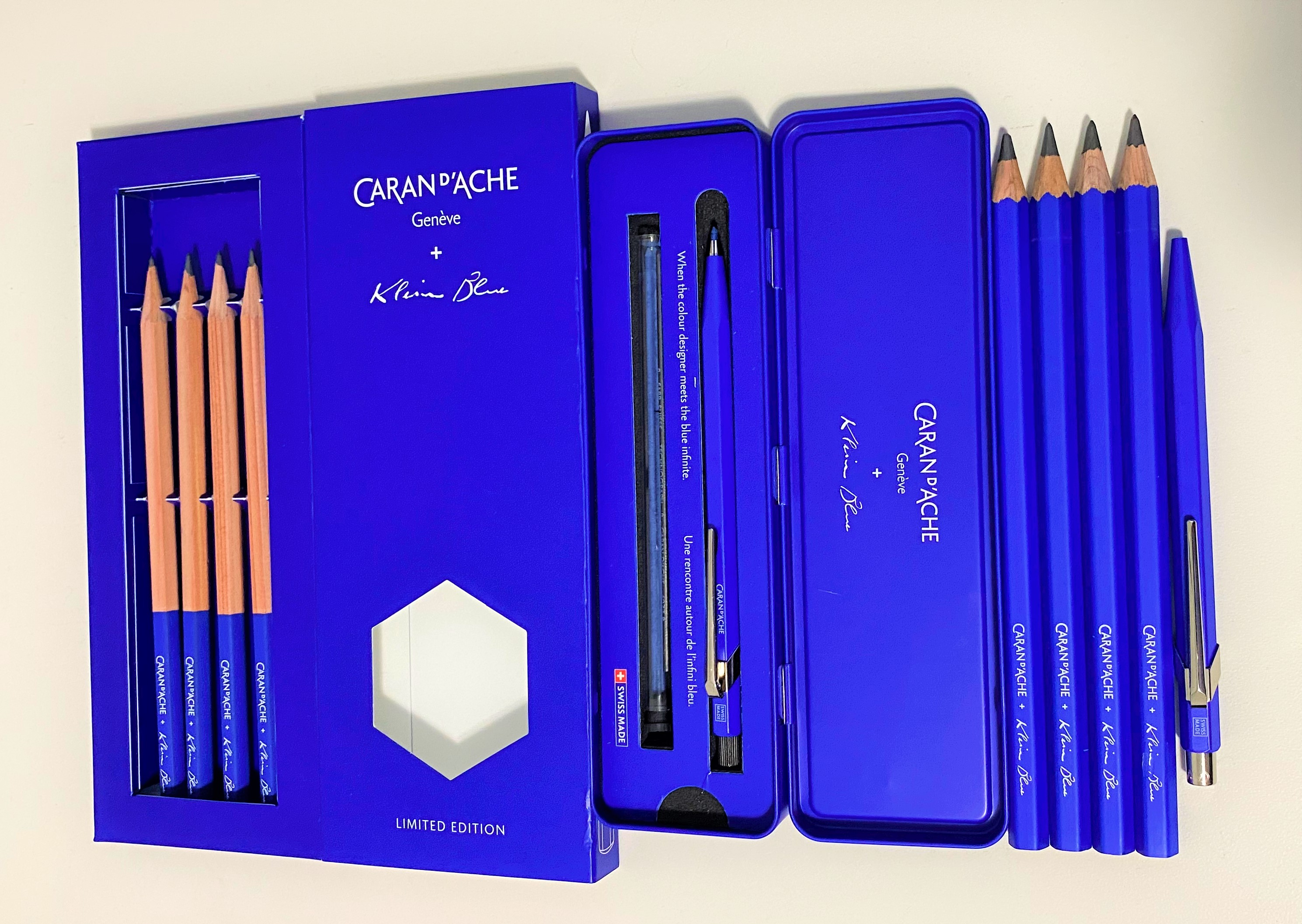 Caran d'Ache Yves Klein Blue Collection