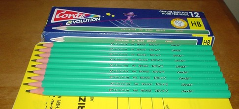 The Conté Evolution Pencil.