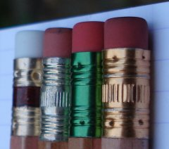Ferrule of Natural Finish Pencils