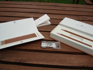 Various Graf von Faber-Castell pencils.