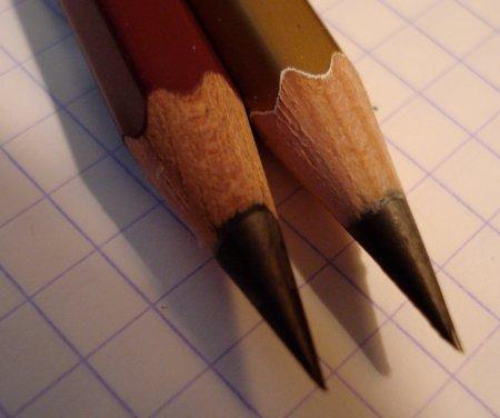 Mitsubishi 10B pencils