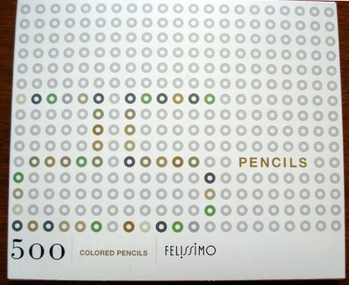 Felissimo 500 Color Pencils