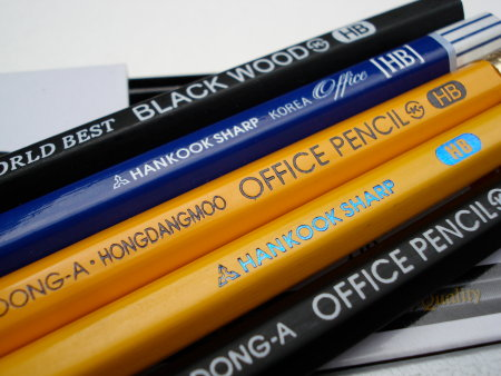 Dong-a World Best Black Wood pencil
