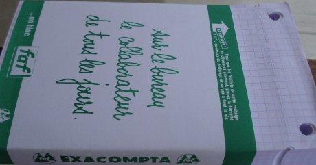 The Exacompta Bloc Faf