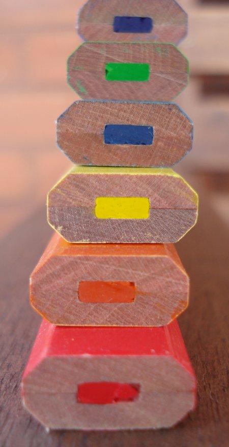 International Arrivals colour carpenter pencil