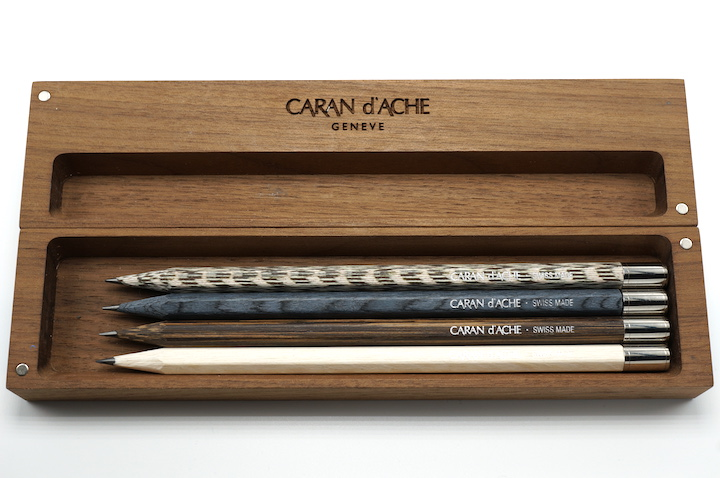 Les Crayons de la maison Caran d'Ache, Wooden Pencil Box Edition No. 1