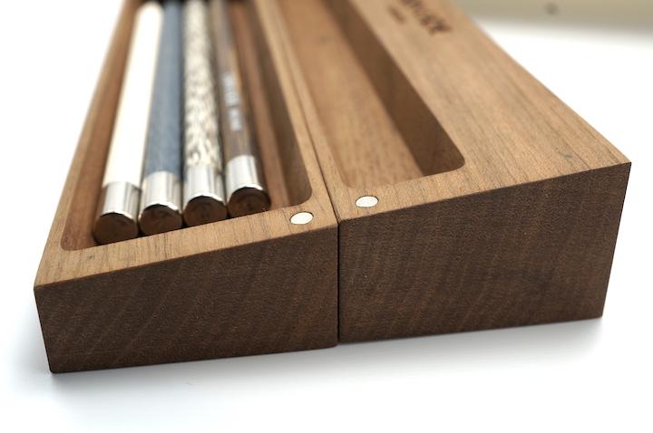 Les Crayons de la maison Caran d'Ache, Wooden Pencil Box Edition No. 1