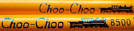 Musgrave Choo-Choo pencil