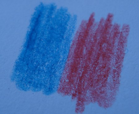 Chung Hwa 120 red and blue pencil