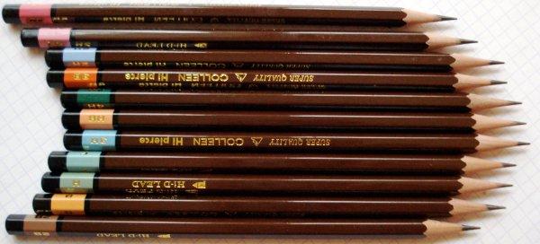 Colleen Hi pierce pencils