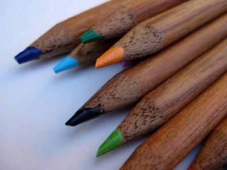 Colleen teak pencils