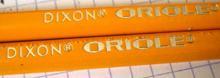 Dixon Oriole pencil
