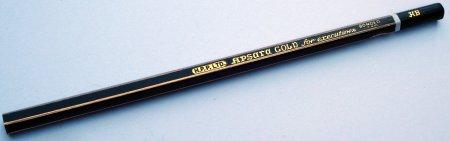 Apsara Gold for executives pencil