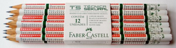 Faber-Castell multiplication table pencil