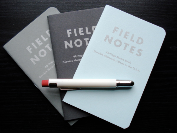 Field Notes and a Bullet Pencil