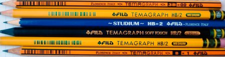 Pencils from FILA