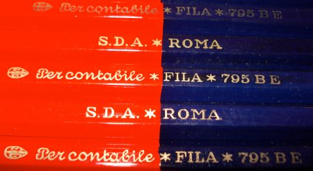 FILA 795 BE Red and Blue Pencil
