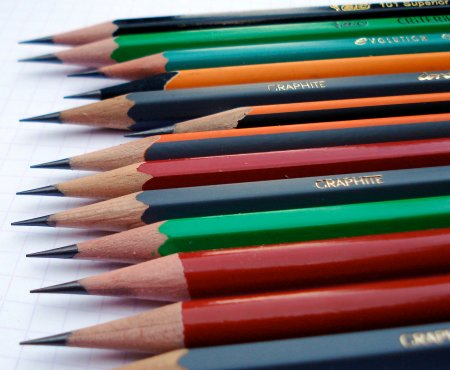 The pencils of France