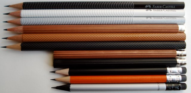 The pencils of Faber-Castell