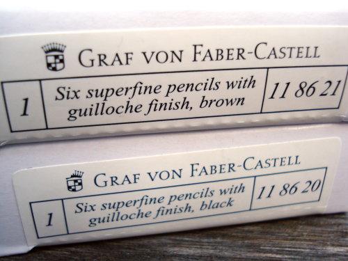 Graf von Faber-Castell Guilloche pencils