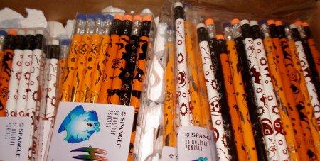 Hallowe'en pencils