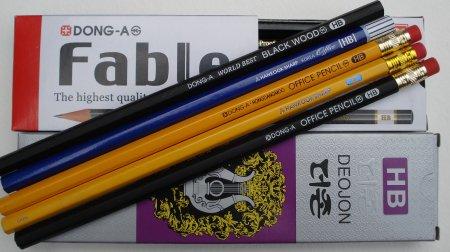 Korean pencils