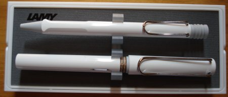 Lamy Safari Fountain Pen/Ballpoint Pen set