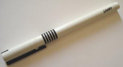 Lamy White Pen