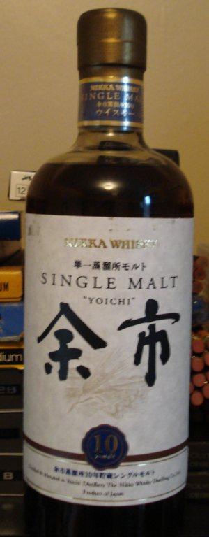 Nikka Single Malt 10yo Yoichi Whisky