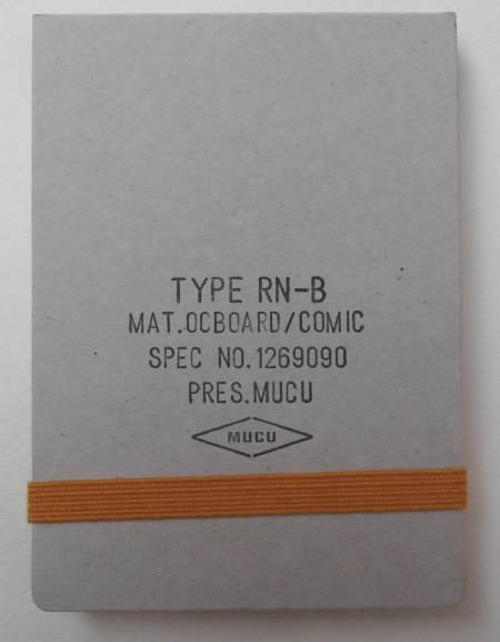 Mucu Type RN-B Notebook