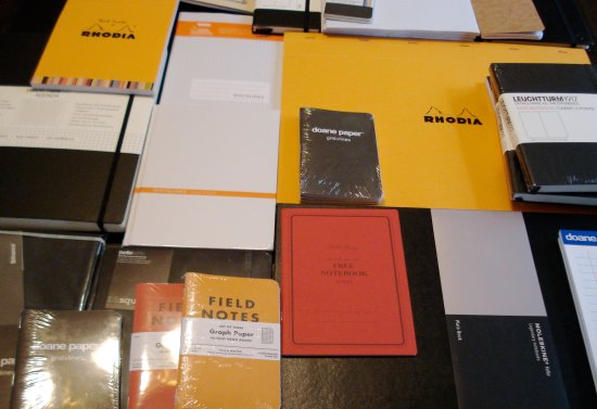 Notebooks from Laywine's in Toronto, Ontario, Canada