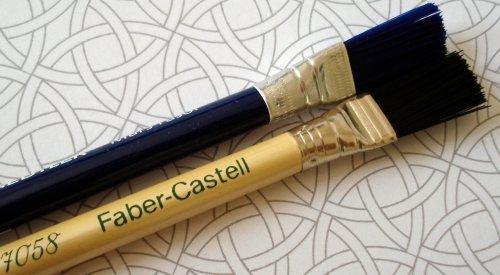 Staedtler Mars rasor & Faber-Castell Perfection 7058