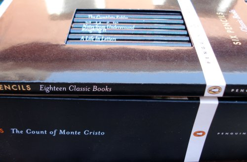 Penguin Classics pencils
