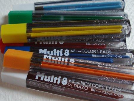 Pentel Multi8