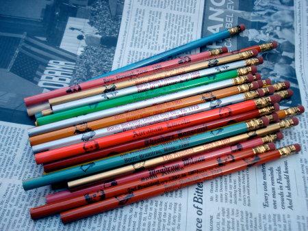 Presidential pencils