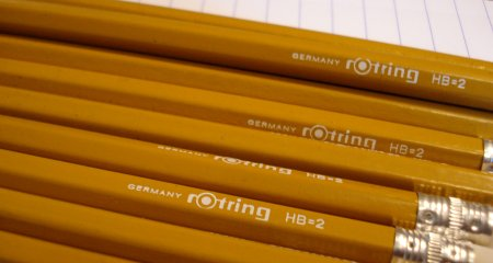 Rotring woodcase pencil