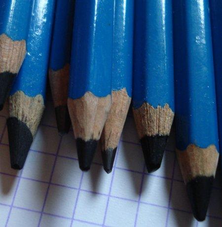 Soft lead pencils