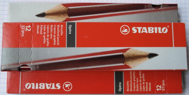 Stabilo Opéra pencil