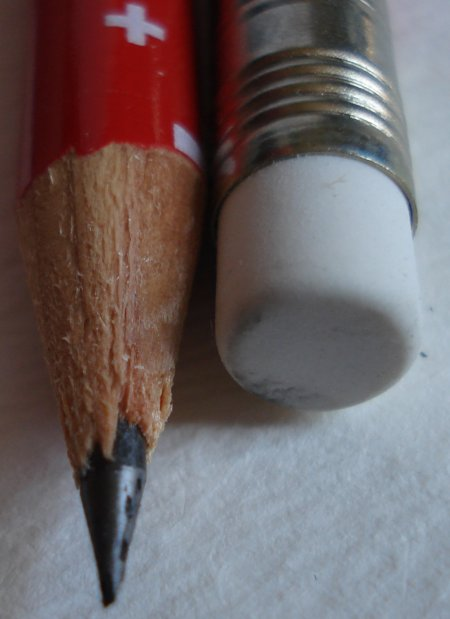 Caran d'Ache Swiss Flag pencil