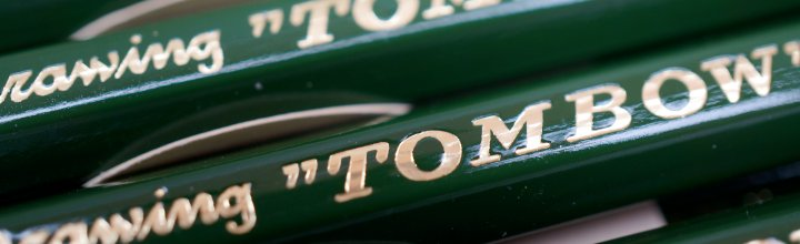 Tombow Pencil Company's 100th Anniversary Pencil - Mono 100 Limited Edition