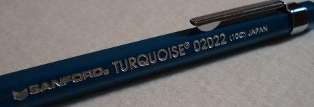 Sanford Turquoise 02022 2mm leadholder