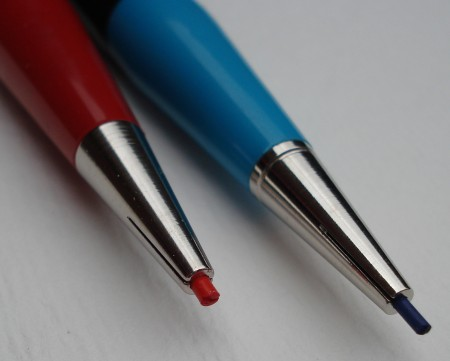 Autopoint Twinpoint red and blue mechanical pencil