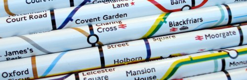 London Underground pencils