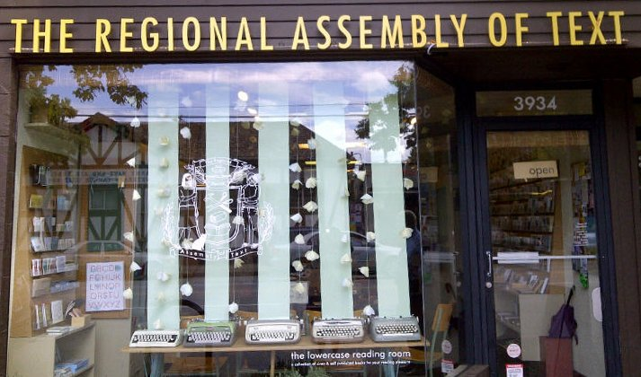 The Regional Assembly of Text in Vancouver