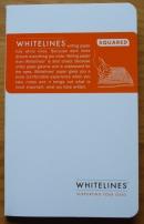 Whitelines Glued Notebook