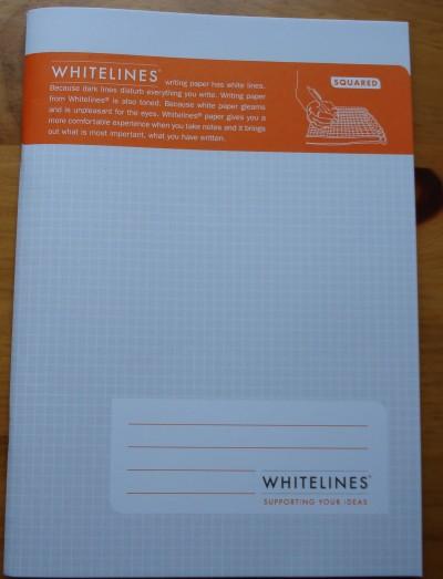 Whitelines Composition Book