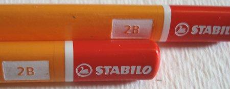 Stabilo X-Shock 286 pencil